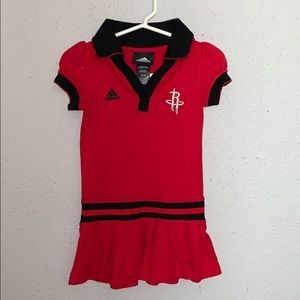 Houston Rockets red dress